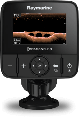 Buy Direct from Raymarine - Dragonfly 4 | Raymarine - A Brand by FLIR