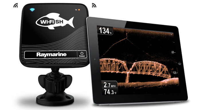 Connect and Share | Raymarine WiFish