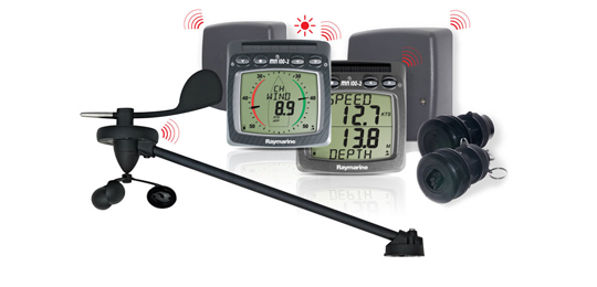 T104 Wireless Speed, Depth, Wind and NMEA System | Raymarine - A Brand by FLIR