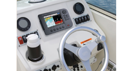 Raymarine A Series Chartplotter-Fishfinder lifestyle cropped