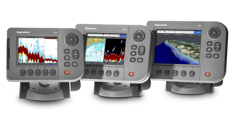 Raymarine A Series Chartplotters and Chartplotter-Fishfinders