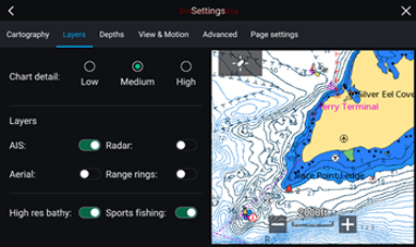 LightHouse 3.2 – C-MAP Active Captain | Raymarine av FLIR