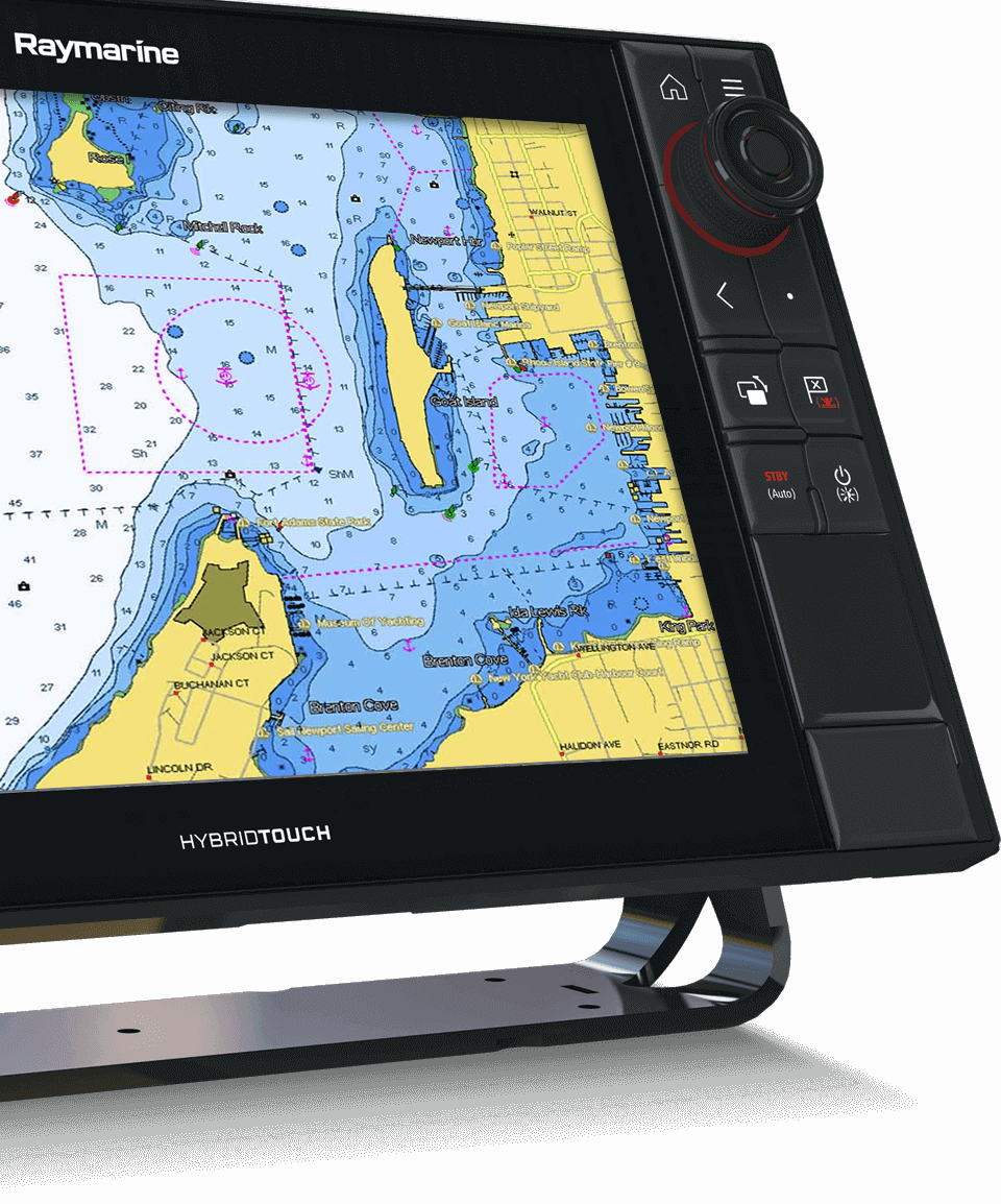 LightHouse 3.2 – integrasjon av C-MAP | Raymarine av FLIR