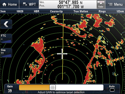 Display Radar Data | Raymarine