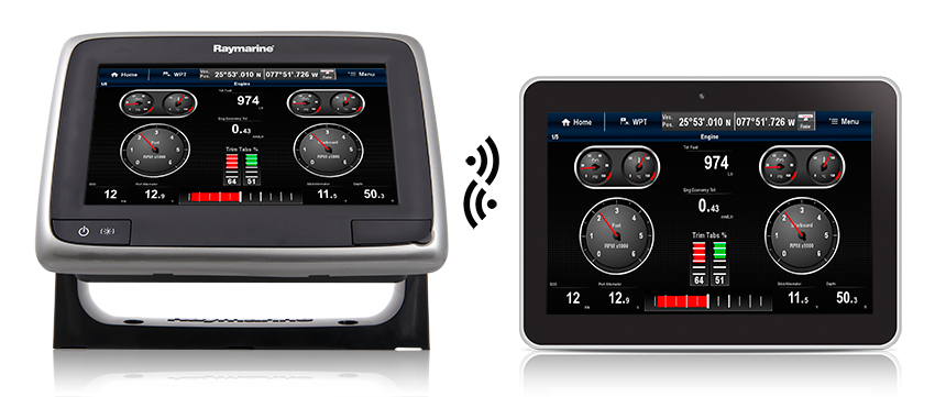 Wireless a7 to tablet | Raymarine