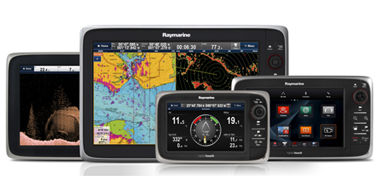Sonar Transducers for eSeries Multifunctions Displays | Raymarine