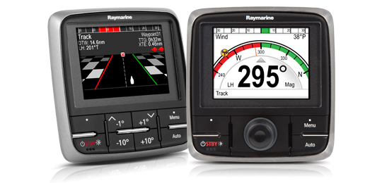Order Printed Manuals for  p70 and p70R Control Heads | Raymarine