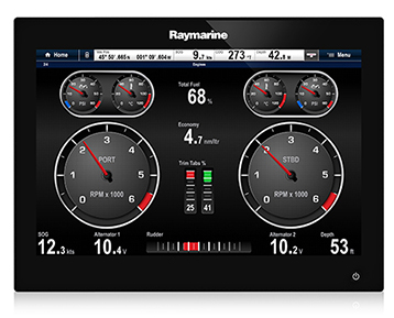 gS165 Ordering Information | Raymarine